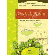Manual pentru clasa a III-a. Stiinte ale Naturii - Octavian Mandrut