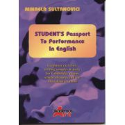 Students Passport to performance in english(Mihaela Sultanovici)