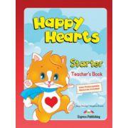 Happy Hearts, Starter. Teachers Book. Curs de limba engleza pentru prescolari - Jenny Dooley, Virginia Evans