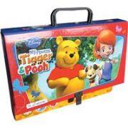 Servieta cu maner Tiger & Pooh