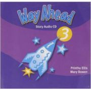 Way Ahead 3, Story Audio 2 CD. Audio recordings of the 'Reading for Pleasure' and from the Pupil's Book