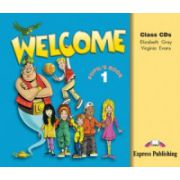 Welcome 1, Audio CD (set 3 CD), Curs de limba engleza pentru clasa III-a