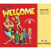 Welcome 2, Audio CD (Set 3 CD-uri ) Curs de limba engleza pentru clasa IV-a )