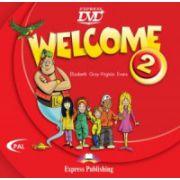 Welcome 2, DVD, Curs de limba engleza pentru clasa IV-a