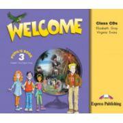 Curs limba engleză Welcome 3 Audio CD (set 3 CD) _Clasa III-a
