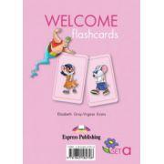 Welcome Starter A, Picture Flashcards, Curs de limba engleza pentru clasa I-a