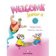 Welcome Starter A, Teachers Book, Curs de limba engleza pentru clasa I-a