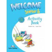 Welcome starter B, Activity Book, Curs de limba engleza pentru clasa II-a
