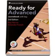 Ready For Advanced. Coursebook with key, 3rd Edition (Updated in line with CAE 2015 )