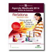 Agenda Medicala 2014 - Editia de buzunar (Dr. Farm. Cornel Chirita, Farm. Cristina Daniela Marineci)
