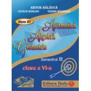 Auxiliar de Aritmetica - clasa a VI-a, sem II (2014)