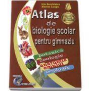 Atlas de biologie scolar pentru gimnaziu. Botanica, zoologie, anatomia omului, ecologie- Marius Lungu