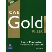 Caietul elevului Exam Maximiser CAE Gold PLus and CD with key Pack - Elaine Boyd