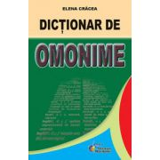 Dictionar de omonime - Cracea Elena