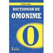 Dictionar de omonime (C. Vasile)