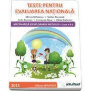 Teste pentru evaluarea nationala. Matematica si explorarea mediului, pentru clasa a II-a - Stefan Pacearca