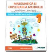 MATEMATICA SI EXPLORAREA MEDIULUI-CAIETUL ELEVULUI PENTRU CLASA I SEMESTRUL I (M. Mihaiescu )