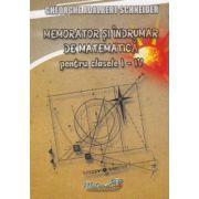 Memorator si indrumar de matematica pentru (Clasele I-IV)