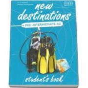 New Destinations Pre-Intermediate A2 - Students Book, British Edition