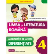 Limba si Literatura Romana pentru clasa a IV-a - CONSOLIDARE. Modalitati de lucru diferentiate (Sofia Dobra)