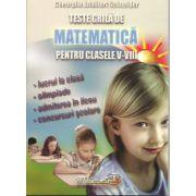 Teste grila de matematica (Clasele V-VIII)