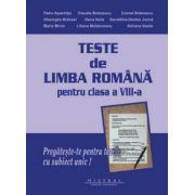 Limba si literatura romana- teste pentru clasa a VIII-a