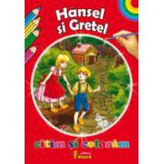 Citim si coloram - Hansel si Gretel