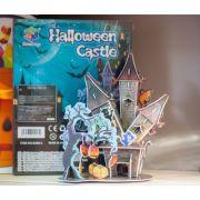 Puzzle 3D Castel Halloween