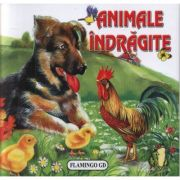 Animale indragite - pliant cartonat