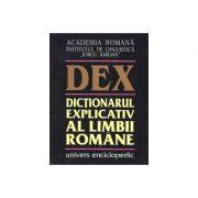 DEX - Dictionarul explicativ al limbii romane (editia a II-a)