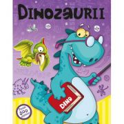 Dinozaurii. Carte cu peste 500 de abtibilduri