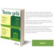 Drept civil, Drept procesual civil, Drept penal, Procedura penala Teste Grila Ed. a II-a Cu raspunsuri