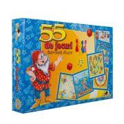 55 de Jocuri Distractive clasice si de familie intr-unul singur (4316)