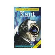 Cite ceva despre Kant - Christopher Want