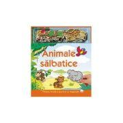 Animale salbatice (carte cu magent)