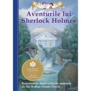 Aventurile lui Sherlock Holmes. Repovestire după scrierile semnate de Sir Arthur Conan Doyle.- Chris Sasaki