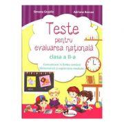 Comunicare in limba romana si matematica si explorarea mediului - Teste pentru evaluare nationala, clasa a II-a
