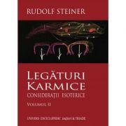 LEGATURI KARMICE VOLUMUL II (RUDOLF STEINER)