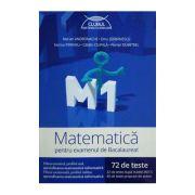 Marian Andronache, Matematica M1 pentru examenul de bacalaureat. 72 de teste Profil REAL - Ed. Art