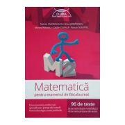Matematica M2 pentru examenul de bacalaureat - 96 de teste (Marian Andronache) - Ed. Art