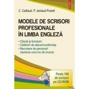 Modele de scrisori profesionale in limba engleza - Carole Caillaud, Patricia Janiaud-Powell