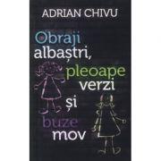 Obraji albaştri, pleoape verzi şi buze mov - Adrian Chivu