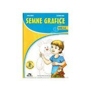 Semne grafice. 5-6 ani - Mirela TabIrca, Alexandru Manea