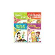 Set 4 caiete pentru gradinita. 4-5 ani - Alexandra Manea, Florina Ion, Mircea Manea