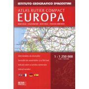 Atlas rutier compact Europa (Istituto Geografico De Agostini)