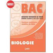 Bacalaureat 2016 - Biologie (Notiuni teoretice si teste, Clasele a XI-a si a XII-a) - Silvia Olteanu - Ed. Corint
