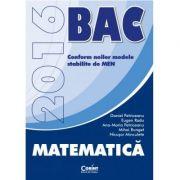 Bacalaureat Matematica M1 2016 (Daniel Petriceanu) - Ed. Corint
