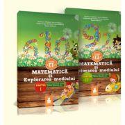 Matematica si explorarea mediului - Auxiliar clasa a II-a (pachet partea I+II)