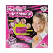 Studio de tatuaje Color chic - Jucarie interactiva (2908)