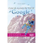 Cum sa ajungi în top pe Google - David Viney